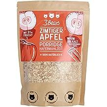 3Bears - Zimtiger Apfel Porridge Hafermahlzeit - 400g