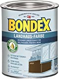 Bondex Landhaus-Farbe 0,75l braun - 391306