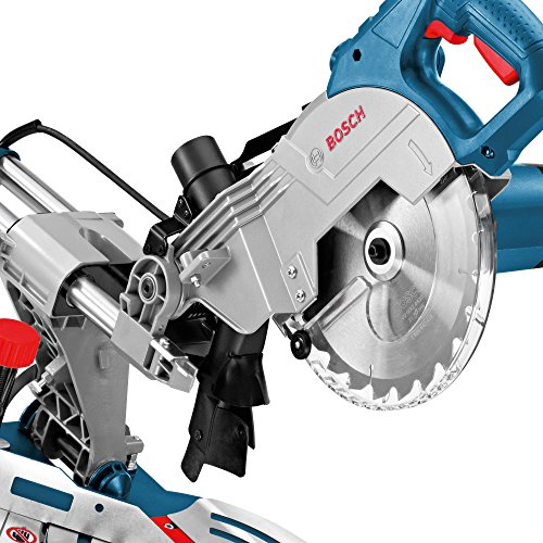 Bosch Professional Paneelsäge GCM 800 SJ (Kreissägeblatt, Karton, Sägeblattdurchmesser: 216 mm, Sägeblattbohrungs-Ø: 30 mm, 13,5 kg, 1400 Watt) - 4