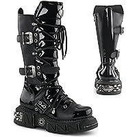 Demonia DMA-3006 - scarpe gotiche metallo punk Industrial stivali ranger 39-46