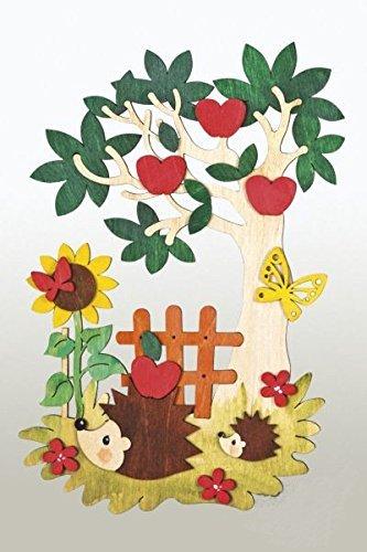 kuhnert-hobaku-15-x-22-cm-do-it-yourself-kit-de-decoration-fenetre-automne