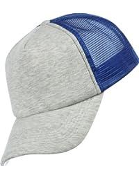 MSTRDS Herren Caps / Trucker Cap Baseball Jersey grau Verstellbar