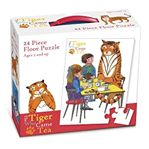Paul Lamond Tiger Who Came to Tea - Puzzle para Suelo, diseño de Tigre