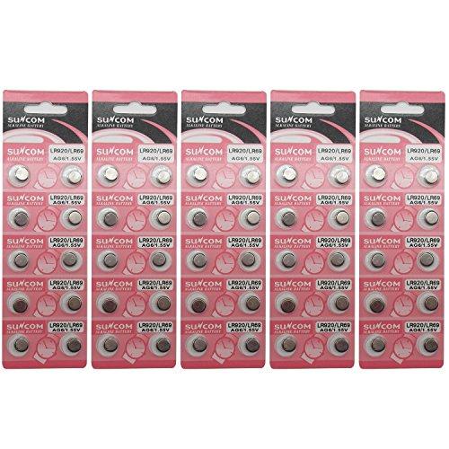 5 Pile Ag6 371a 371 Sr69 Lr920 Sr920 Cx69 Evident Effect Watch Batteries