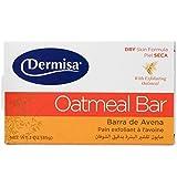 Dermisa Soap Exfoliating Oatmeal, 3 oz.,...