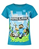 Official Minecraft Adventure Girl's T-Shirt (5-6 Years)