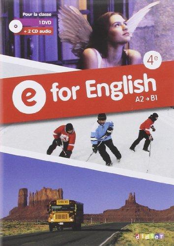 E for English 4e - Coffret CD + DVD