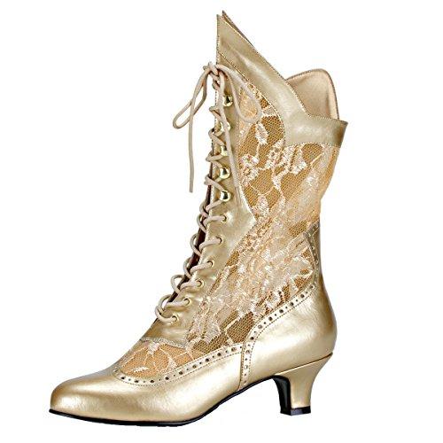 Heels-Perfect, Stivali donna Oro (gold)