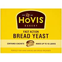 Hovis Bakery Fast Action Bread Yeast 6 Sachets 42 g (Pack of 10)