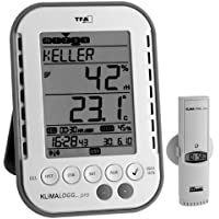 Profi-Klimalogger Klimalogg Pro 30.3039 incl. 4 Stück Funksender 30.3180