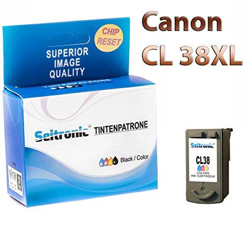 Preisvergleich Produktbild 1x Drucker Patrone Seitronic für Canon CL-38 Farbig Pixma MP 210 220 470