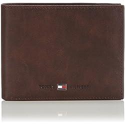 Tommy Hilfiger Johnson AM0AM00665, Porte-Monnaie - Marron (041), Taille Unique