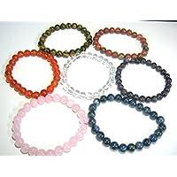 Schönes Set von sieben Perlen rund Armbänder Crystal Healing Fashion Wicca Jewelry Herren Frauen Geschenk Positive... preisvergleich bei billige-tabletten.eu