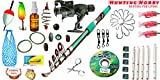 #7: Fishing Spinning Rod,Reel,Accessories Complete Kit