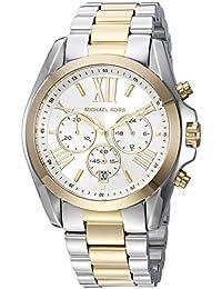 032c297bff360 Michael Kors Women s Bradshaw MK5627 Silver Stainless-Steel Analog Quartz  Fashion Watch