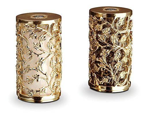 L'Objet Lorel Spice Jewels Gold Salt & Pepper Shakers by L'Objet