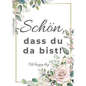 """50 Rubbelkarten""""Schön, dass Du da bist!"""", Hochzeit Spiel, Gastgeschenk Hochzeit Rubbelkarten 50 STÜCK (Hochzeit)"""