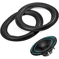 Alu Montage Distanz Abstands Adapter Ringe für 16cm Lautsprecher H:15 mm schwarz