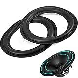Zerone 2 stücke 6 Zoll / 156mm Perforierte Gummi Lautsprecher Schaum Rand Surround Ringe Ersatzteile für Lautsprecher Reparatur oder DIY