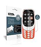 Nokia 3310 Pellicola Protettiva opaco - 2x dipos Glass Protezione Vetro Flessibile 9H