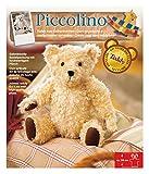 Glorex GmbH GLOREX 04347100–Peluche confeccionar Teddy Piccolino, aprox. 28cm