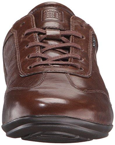 Geox U Efrem A, Scarpe Stringate Basse Oxford Uomo Marrone (DK Brown C6006)