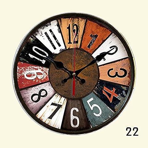 nllpjmf silenzioso orologio da parete Home decoration-10cm