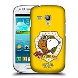 Head Case Designs Offizielle Peanuts Spitze Flieger Die Vielen Seiten von Snoopy Ruckseite Hülle für Samsung Galaxy S3 III Mini