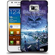 Official Iron Maiden Brave New World Album Covers Hard Back Case for Samsung Galaxy S2 II I9100