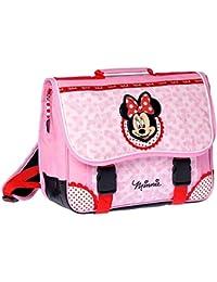 Minnie y sus amies–Mochila Minnie Mouse rosa 38cm de alta definición