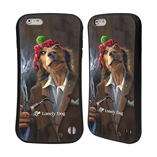 Ufficiale Lonely Dog Barone Di Beaconsfield Primo Piano Case Ibrida per Apple iPhone 6 / 6s Il Signor Peppersford Trousers
