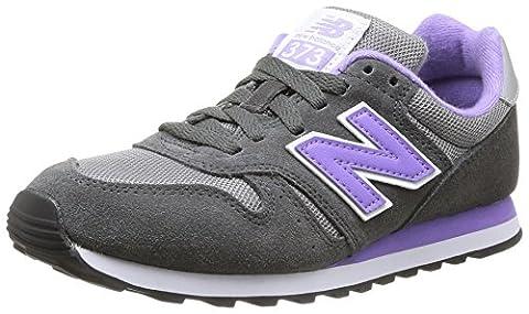 New Balance W373 B (14H), Damen Sneakers, Grau (SGR GREY),