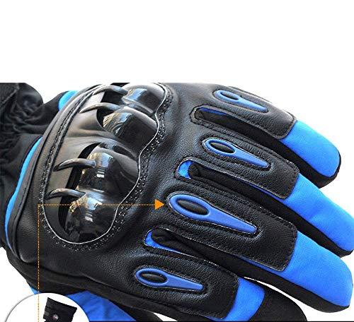 SHOU Mode Motorrad Ski Winddicht wasserdicht warm Road Riding Handschuhe, (Kostüm Ski Xxl)