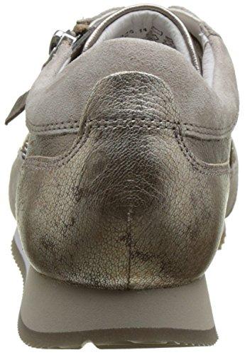 Gabor Shoes Comfort, Scarpe da Ginnastica Basse Donna Grigio (argento/koala k. 14)