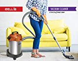 iBELL Steel Powerful Suction and Blower Function 12 Litre Vacuum Cleaner (1000-Watt, Orange and Silver)