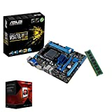 Aufrüst Bundle AMD FX-4300 4x3.8GHz |ASUS Board|8GB DDR3|Radeon HD 3000 DVI|USB 3.0|SATA3|Sound|GigabitLan|3 Jahre Garantie|Made in Germany|Computer Multimedia Desktop Rechner Workstation Office Syste
