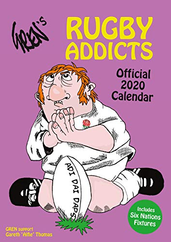Rugby Addicts Gren's 2020 Calendar - Official A3 Wall Format Calendar par Rugby Addicts
