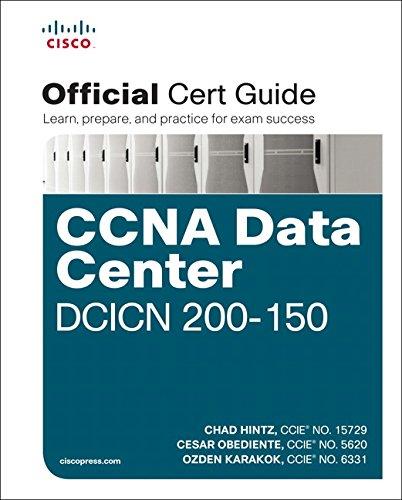 CCNA Data Center DCICN 200-150 Official Cert Guide, 1/e por Chad Hintz