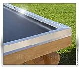 3,05 m EPDM-Folie 1,52 mm für Carport, Garage oder Balkon; Preis je m²