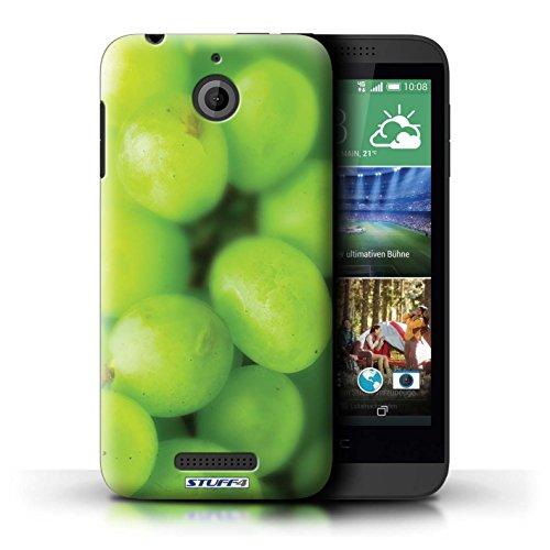 Kobalt® Imprimé Etui / Coque pour HTC Desire 510 / Melon d'eau conception / Série Fruits Raisin