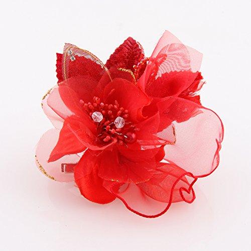 KPHY-Koreanische Blüte Kopfschmuck Der Versuchung Mini - Duftenden Strauß - Brosche Den Vorsitz Bei Der Hochzeit Tanzen Kleid StehtD (Tanzen Brosche)