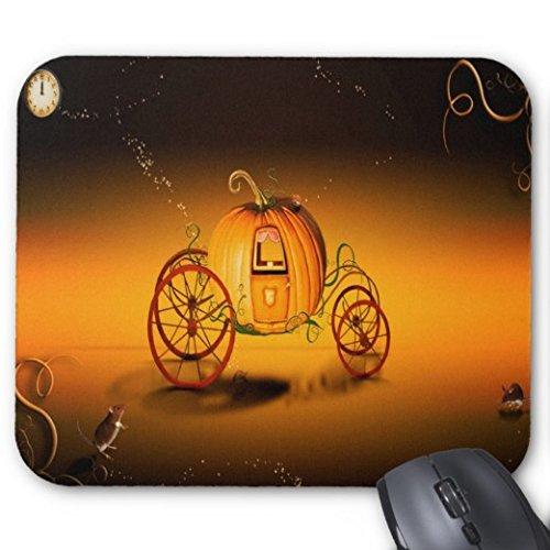 Gaming Mouse Pad Halloween Kürbis Auto Design für Desktop und Laptop 1 Pack 25x20cm / 9.8x7.9in