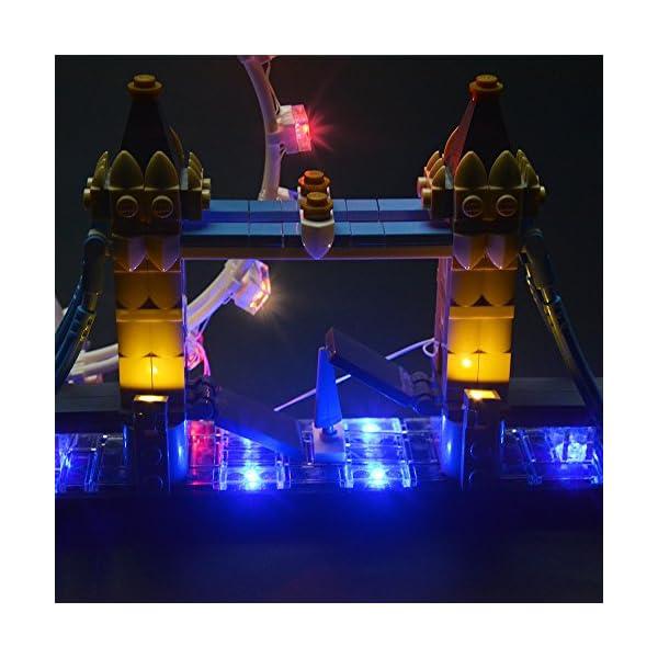 LIGHTAILING Set di Luci per (Architecture Londra) Modello da Costruire - Kit Luce LED Compatibile con Lego 21034 (Non… 4 spesavip