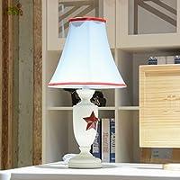 stella a cinque punte di Inghilterra adolescenti moderni personalizzato da letto di nozze lampada da comodino Lampada in tessuto lampade classiche europee