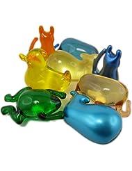20 Perles de Bain Animaux - Assortiments de senteurs et couleurs