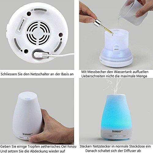 InnooTech Aroma Diffuser-Luftbefeuchter-Duftspender - 5