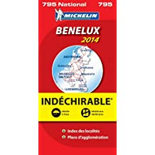 Carte Benelux Indéchirable 2014 Michelin