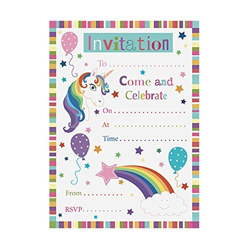 Pack-of-20-Unicorn-Party-Invitations
