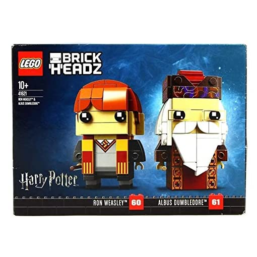 Lego-BrickHeadz-Ron-Weasley-Albus-Dumbledore-41621-180-Pezzi