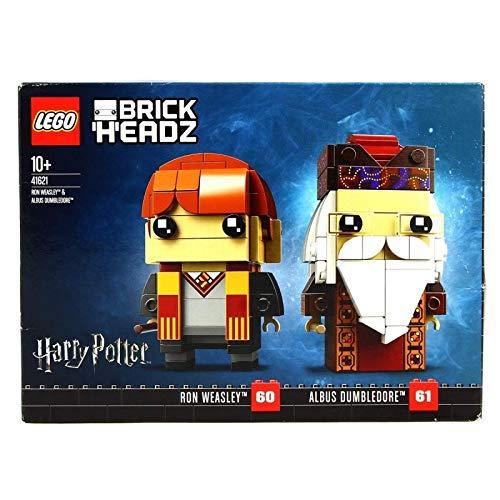 LEGO BrickHeadz- Ron Weasley™ y Albus Dumbledore™ (41621)